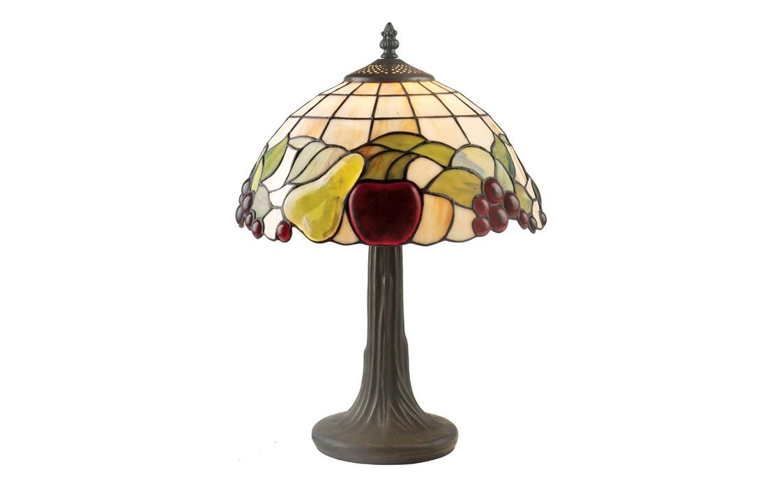 Настольная лампаДекоративные лампы<br>Цоколь: E27 Мощность: 2х60W<br><br>Material: Стекло<br>Height см: 45<br>Diameter см: 31