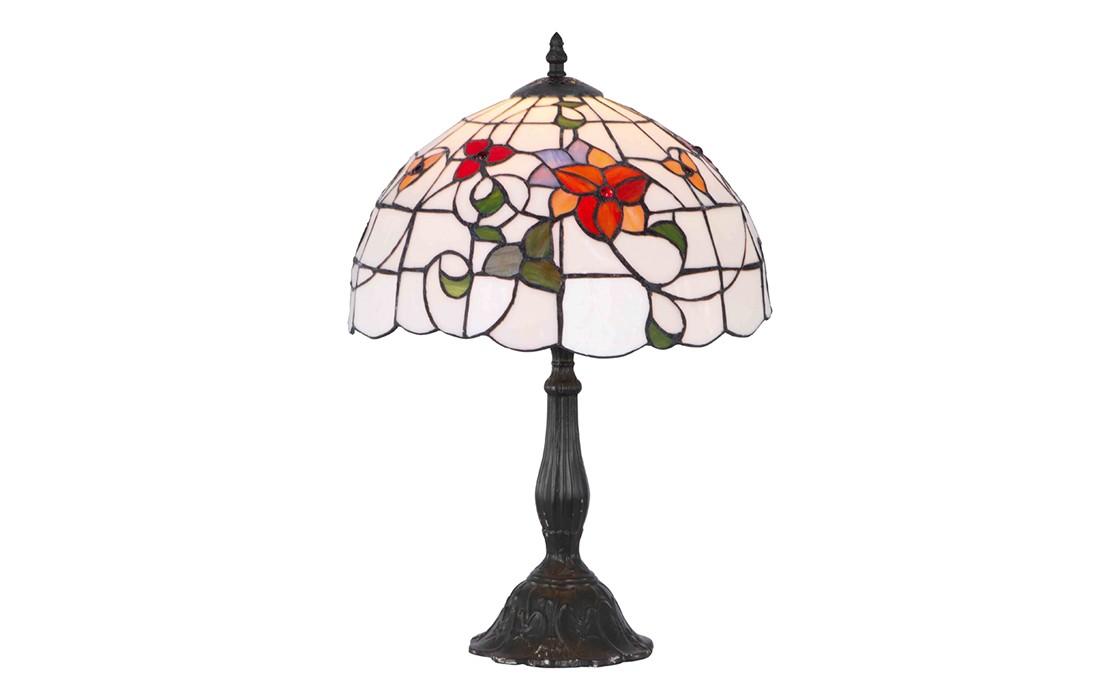 Настольная лампаДекоративные лампы<br>Цоколь: E27 Мощность: 1х60W<br><br>Material: Стекло<br>Высота см: 47