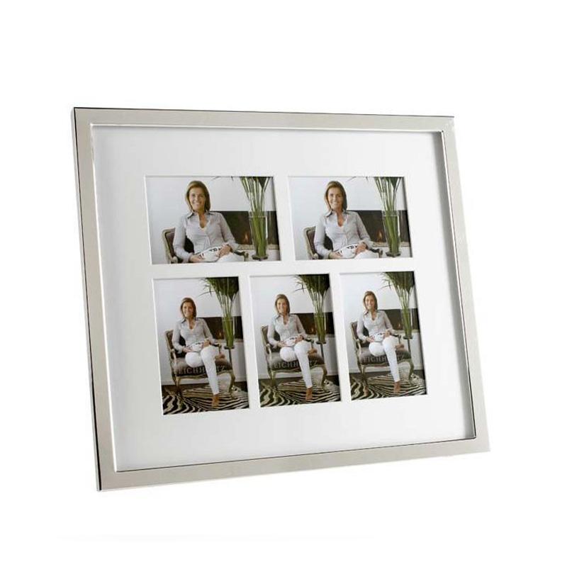 Рамка для фотографийРамки для фотографий<br>Фоторамка Whitmore с никелированной рамкой и прозрачным стеклом.<br><br>Material: Металл<br>Width см: 38<br>Height см: 43