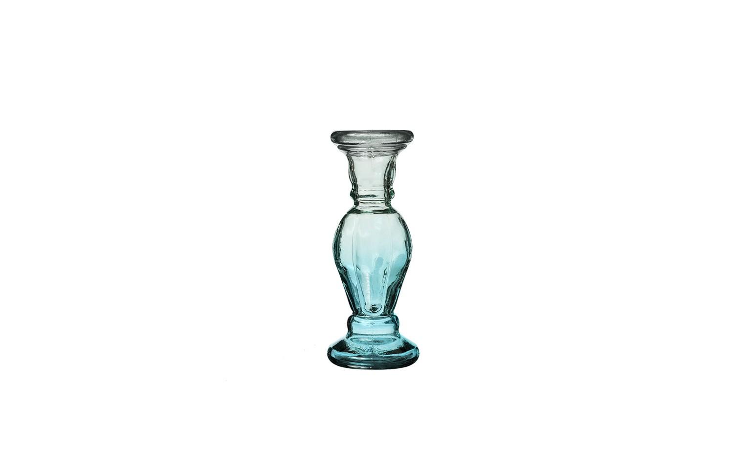 ПодсвечникПодсвечники<br>San Miguel (Испания) – это мощнейшая компания, которая занимается производством очень качественной и оригинальной продукции из переработанного стекла. Vidrios San Miguel известный бренд во всем мире. В наши дни, Vidrios San Miguel имеет более чем 25 000 торговых точек.  Vidrios San Miguel занимается производством стеклянных изделий: посуда, бутылки, вазы, сувениры, украшения и многое другое.<br><br>Material: Стекло<br>Height см: 30<br>Diameter см: 11