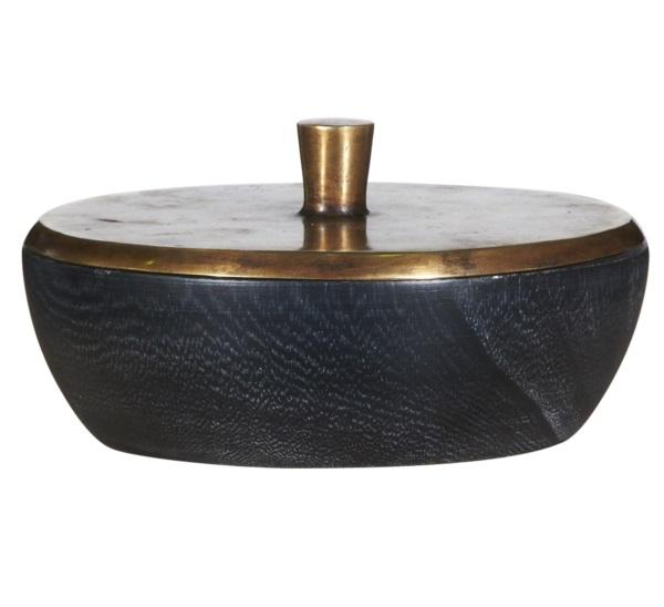 Ваза настольная Bowl WoodВазы<br><br><br>Material: Дерево<br>Height см: 8<br>Diameter см: 16