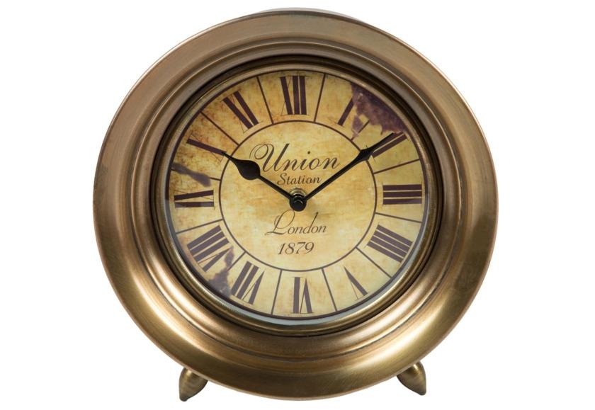 Часы настольныеНастольные часы<br><br><br>Material: Металл<br>Depth см: 5<br>Height см: None<br>Diameter см: 15