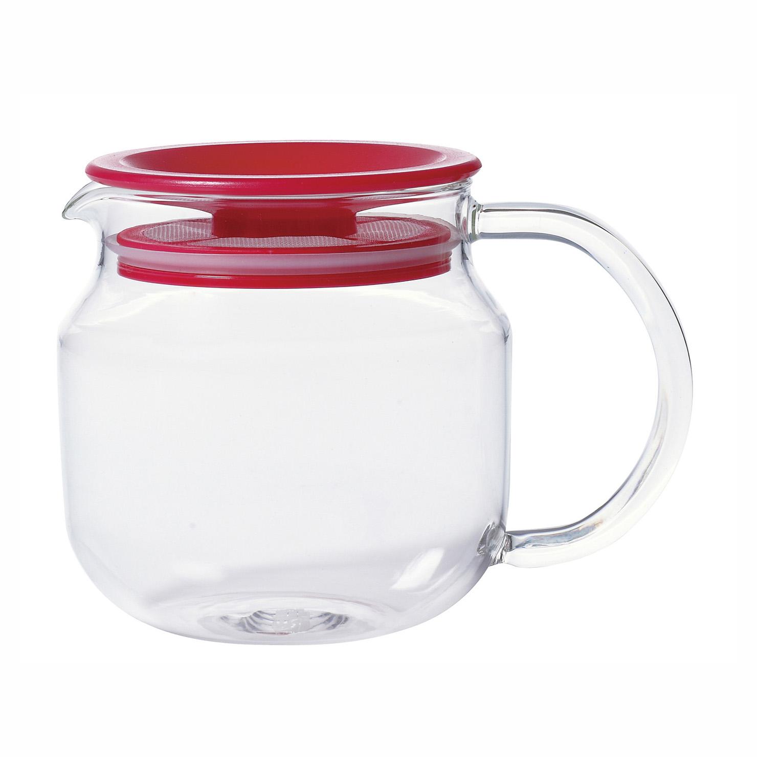 ЧайникЧайники<br>KINTO – одна из самых востребованных и популярных японских марок посуды. Кружки, чайники, емкости для заваривания чая, соковыжималки отличаются высокой прочностью, надежностью, отсутствием сколов, стойкостью к царапинам и механическим повреждениям. Именно это сделало KINTO лидером современного рынка практичной посуды.<br>Чайник выполнен из высококачественного экологически чистого стекла, произведенного по современной японской технологии. Имеет герметично закрывающуюся пластмассовую крышку, что позволяет сделать его использование более комфортным и легким. Объем чайника - 450 мл.<br><br>Material: Стекло