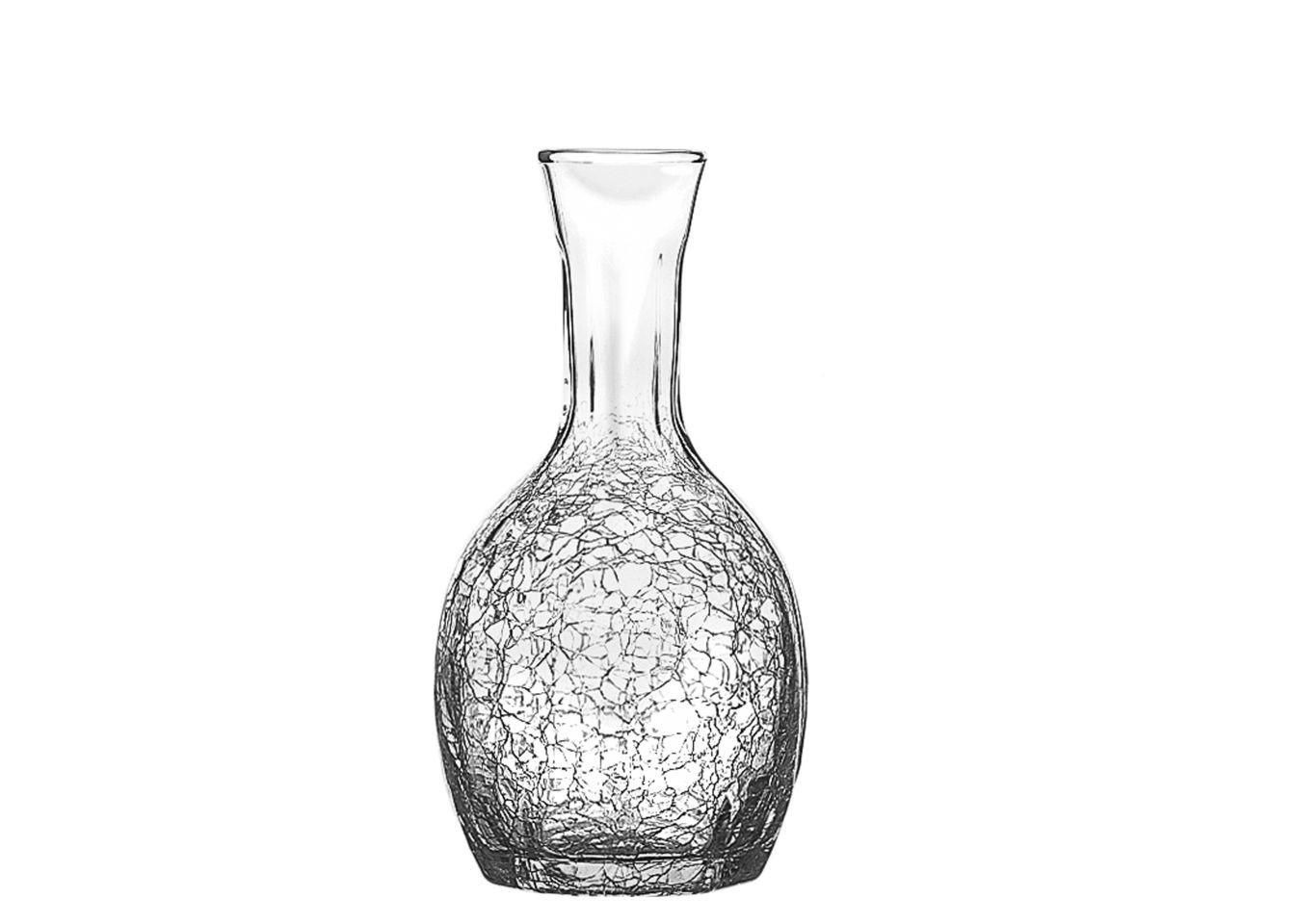 ГрафинЕмкости для хранения<br>Стекольная фабрика la Rochere (Франция) основана в 1475 году сегодня является старейшим действующим стекольным предприятием Франции и, безусловно, одним из старейших в мире. Особая техника выдувания стекла хранилась в строжайшей тайне и вместе со званием «стекольного дворянина» передавалась владельцем la Rochere из поколения в поколение законному наследнику. И в наши дни работник, поступающий на фабрику la Rochere, принимает торжественную присягу, обязуясь не разглашать секреты стекла la Rochere. Изящные изделия художников la Rochere привлекут внимание знатоков и ценителей французского стиля Арт Нуво. Объем 750 мл.<br><br>Material: Стекло