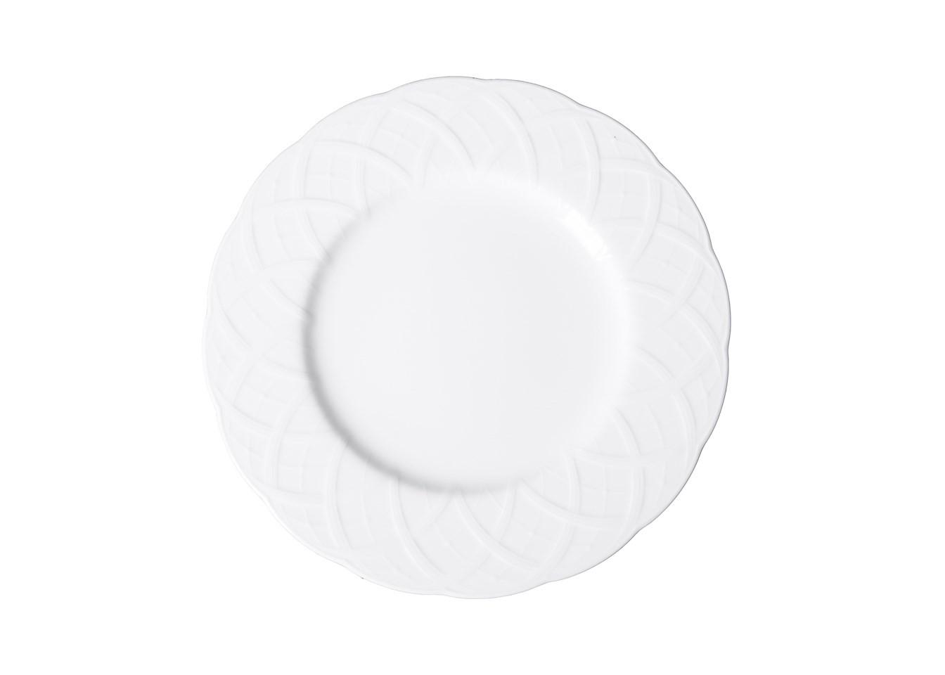 Тарелка обеденнаяТарелки<br>MIKASA по праву считается одним из мировых лидеров по производству столовой посуды из фарфора и керамики. На протяжении более полувека категории качества и дизайна являются неотъемлемой частью бренда MIKASA. Сегодня MIKASA сотрудничает со многими известными дизайнерами, работающими для лучших фабрик мира, и использует самые передовые технологии в производстве посуды. Все продукты бренда  MIKASA безупречны с точки зрения дизайна и исполнения. Благодаря огромному стилистическому разнообразию каждый может выбр<br><br>Material: Фарфор<br>Diameter см: 27