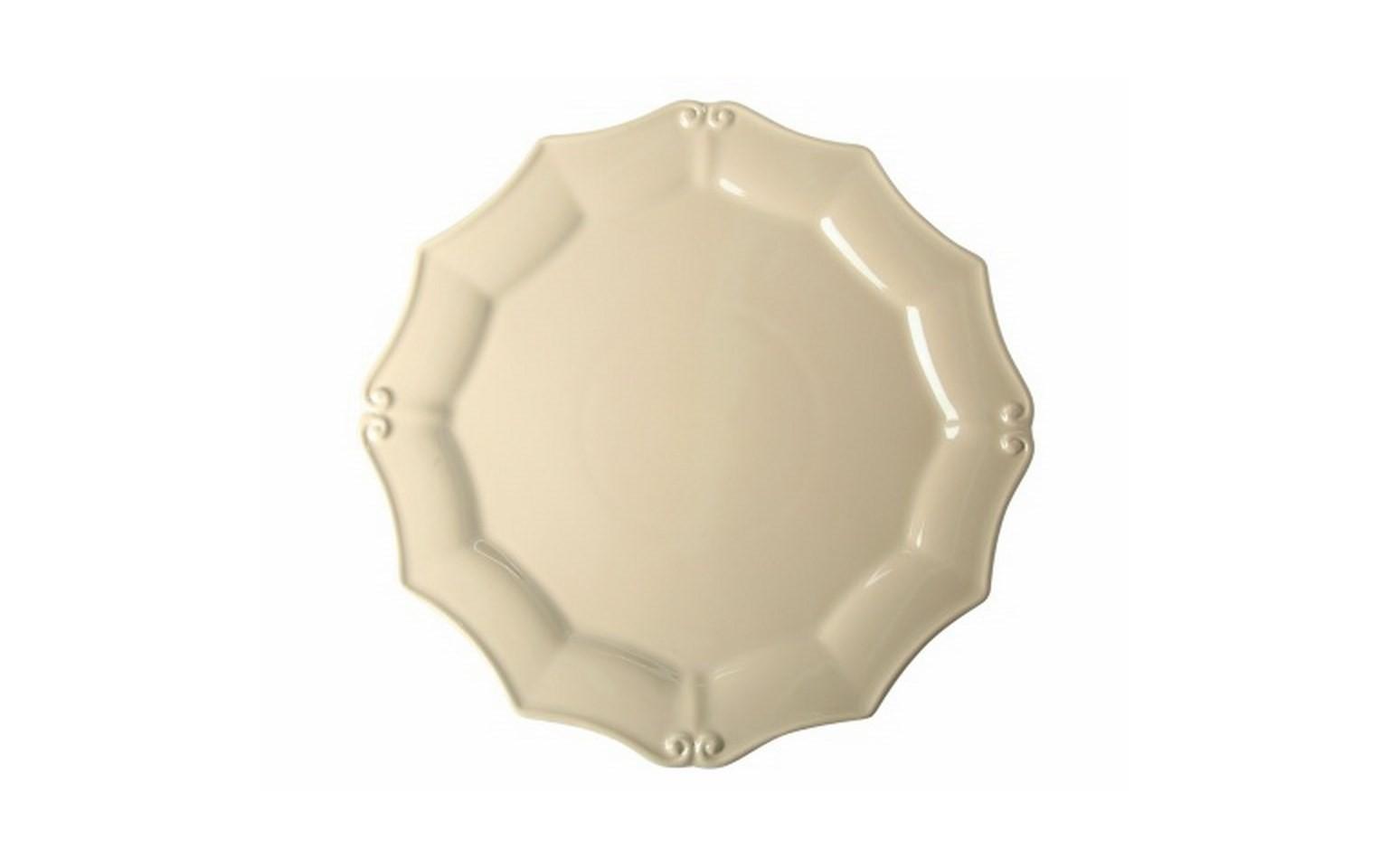 ТарелкаТарелки<br>Costa Nova (Португалия) – керамическая посуда из самого сердца Португалии. Керамическая посуда Costa Nova абсолютно устойчива к мытью, даже в посудомоечной машине, ее вполне можно использовать для замораживания продуктов и в микроволновой печи, при этом можно не бояться повредить эту великолепную глазурь и свежие краски. Такую посуду легко мыть, при ее очистке можно использовать металлические губки – и все это благодаря прочному глазурованному покрытию. Все серии посуды от Costa Nova отвечают международным стандартам качества. Керамическая посуда от Costa Nova не содержит такие вещества, как свинец и кадмий.<br><br>Material: Керамика<br>Diameter см: 36