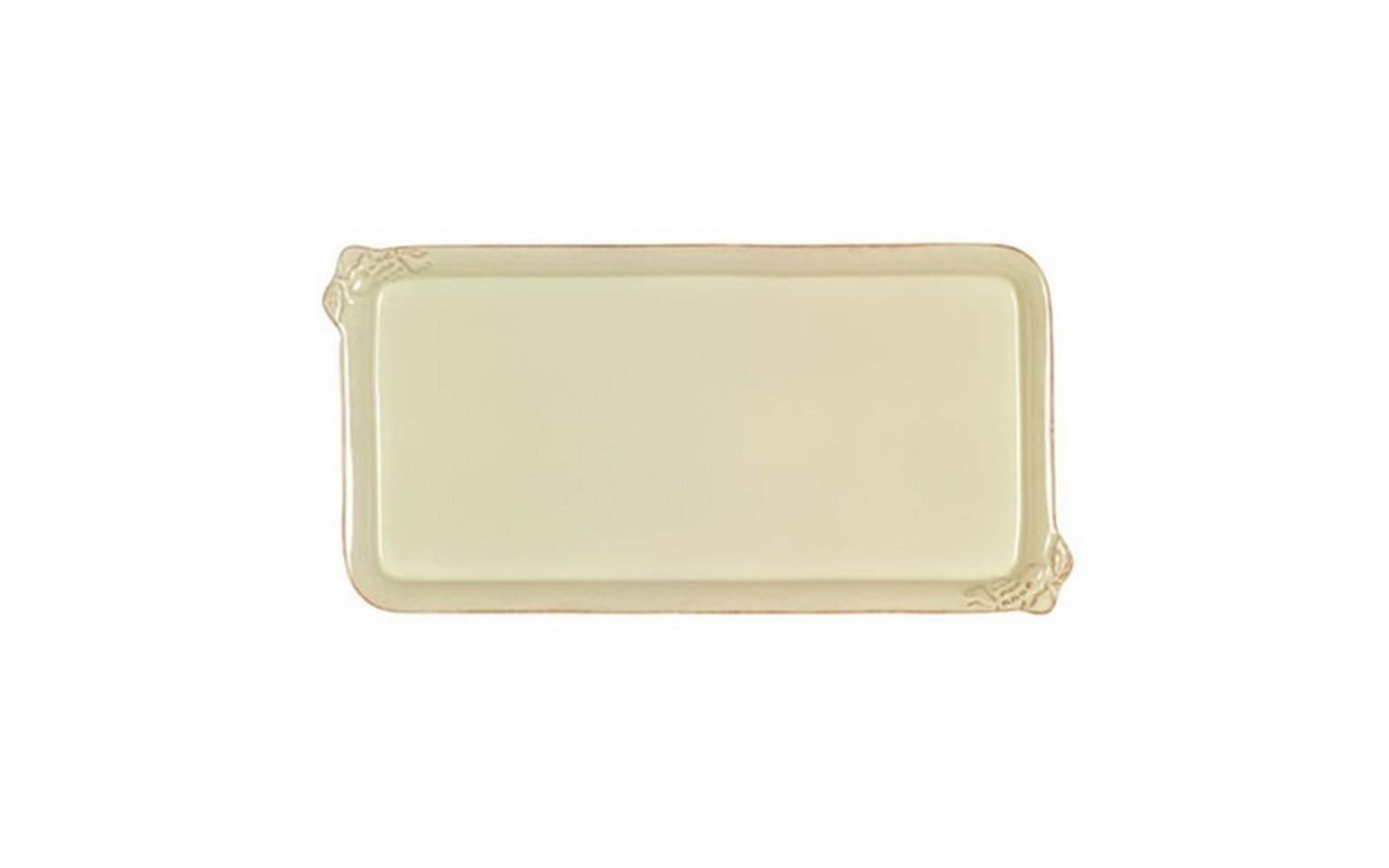 Поднос прямоугольныйДекоративные подносы<br>Costa Nova (Португалия) – керамическая посуда из самого сердца Португалии. Керамическая посуда Costa Nova абсолютно устойчива к мытью, даже в посудомоечной машине, ее вполне можно использовать для замораживания продуктов и в микроволновой печи, при этом можно не бояться повредить эту великолепную глазурь и свежие краски. Такую посуду легко мыть, при ее очистке можно использовать металлические губки – и все это благодаря прочному глазурованному покрытию. Все серии посуды от Costa Nova отвечают международным стандартам качества. Керамическая посуда от Costa Nova не содержит такие вещества, как свинец и кадмий.<br><br>Material: Керамика
