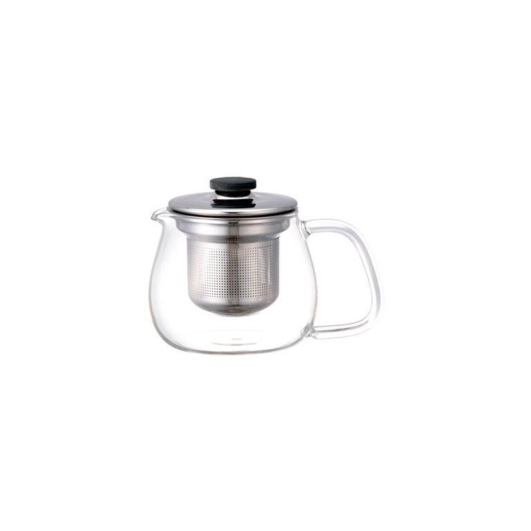 ЧайникЧайники<br>KINTO – одна из самых востребованных и популярных японских марок посуды. Кружки, чайники, емкости для заваривания чая, соковыжималки отличаются высокой прочностью, надежностью, отсутствием сколов, стойкостью к царапинам и механическим повреждениям. Чайник выполнен из высококачественного экологически чистого стекла, произведенного по современной японской технологии. Имеет герметично закрывающуюся крышку из нержавеющей стали и сито для заваривания, что придает ему особый стиль, успешно сочетающийся с практичностью и комфортом при использовании.&amp;lt;div&amp;gt;&amp;lt;br&amp;gt;&amp;lt;/div&amp;gt;&amp;lt;div&amp;gt;Объем 500 мл.&amp;lt;/div&amp;gt;<br><br>Material: Стекло