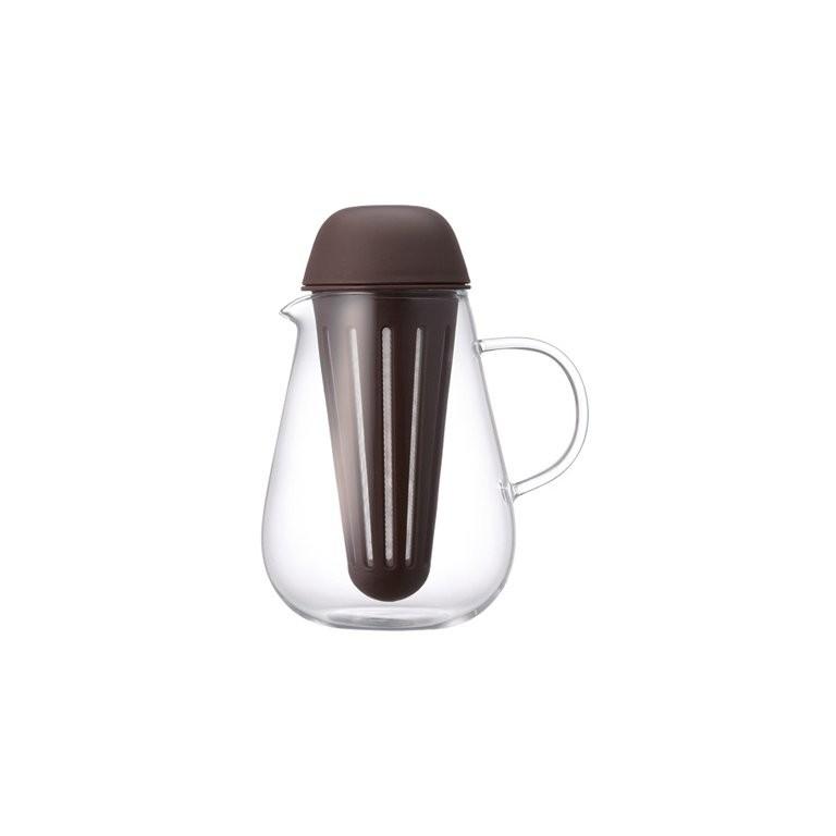 ЧайникЧайники<br>KINTO – одна из самых востребованных и популярных японских марок посуды. Кружки, чайники, емкости для заваривания чая, соковыжималки отличаются высокой прочностью, надежностью, отсутствием сколов, стойкостью к царапинам и механическим повреждениям. Чайник выполнен из высококачественного экологически чистого стекла, произведенного по современной японской технологии. &amp;amp;nbsp;Имеет герметично закрывающуюся пластмассовую крышку и сито для заваривания, что позволяет сделать его использование более комфортным и легким.&amp;lt;br&amp;gt;&amp;lt;br&amp;gt;Объем 720 мл<br><br>Material: Стекло