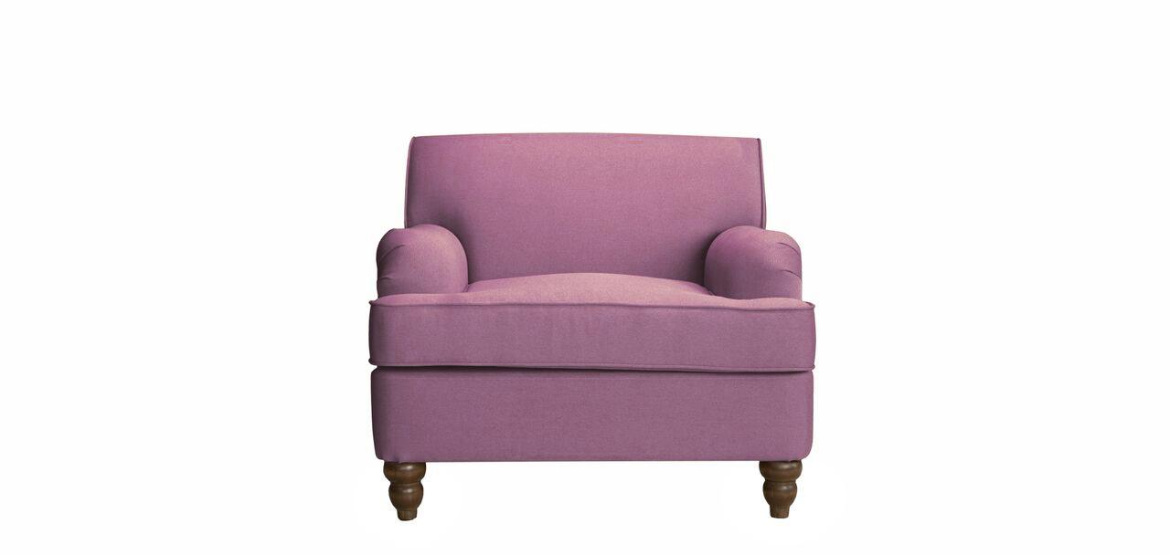 Кресло OneИнтерьерные кресла<br>В коллекции MyFurnish One мы собрали мебель, подходящую для любого интерьера. Первое кресло выдержано на грани традиционного и современного, практичного и красивого. Формы сочетают прованский стиль со скандинавскими элементами. Надежная обивочная ткань дополнена изящными ножками из массива дерева, которые выступают акцентом. А миниатюрные подлокотники обрамляют мягкое сидение, в котором будет приятно провести не один час. Предмет уместен и как дополнение к уже созданному дизайнерскому решению и как первый опыт в мире элегантной мебели.&amp;lt;div&amp;gt;&amp;lt;b style=&amp;quot;line-height: 1.78571;&amp;quot;&amp;gt;Каркас и ножки:&amp;lt;/b&amp;gt;&amp;lt;span style=&amp;quot;line-height: 1.78571;&amp;quot;&amp;gt; массив сосны и березы, фанера.&amp;lt;/span&amp;gt;&amp;lt;/div&amp;gt;&amp;lt;div&amp;gt;&amp;lt;b style=&amp;quot;line-height: 1.78571;&amp;quot;&amp;gt;Сиденье и спинка:&amp;lt;/b&amp;gt;&amp;lt;span style=&amp;quot;line-height: 1.78571;&amp;quot;&amp;gt; пружины Nosag, ремни, высокоэластичный ППУ&amp;lt;/span&amp;gt;&amp;lt;/div&amp;gt;&amp;lt;div&amp;gt;&amp;lt;b style=&amp;quot;line-height: 1.78571;&amp;quot;&amp;gt;The Furnish&amp;lt;/b&amp;gt;&amp;lt;span style=&amp;quot;line-height: 1.78571;&amp;quot;&amp;gt; предоставляет покупателю гарантию качества, действующую в течение 12 календарных месяцев со дня получения.&amp;lt;/span&amp;gt;&amp;lt;/div&amp;gt;&amp;lt;div&amp;gt;Цвет на фото предоставлен в палитре: темно-розовый 721&amp;lt;br&amp;gt;&amp;lt;/div&amp;gt;&amp;lt;div&amp;gt;&amp;lt;br&amp;gt;&amp;lt;/div&amp;gt;&amp;lt;div&amp;gt;&amp;lt;br&amp;gt;&amp;lt;/div&amp;gt;<br><br>Material: Текстиль<br>Width см: 80<br>Depth см: 52<br>Height см: 95
