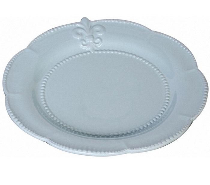 Тарелка Tess BlueДекоративные тарелки<br><br><br>Material: Керамика<br>Depth см: 0.5<br>Height см: None<br>Diameter см: 24