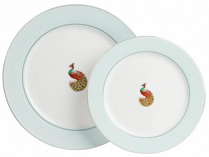 Комплект тарелок BonitaДекоративные тарелки<br>Диаметр одной тарелки&amp;amp;nbsp;25.5 см&amp;lt;div&amp;gt;Диаметр другой тарелки&amp;amp;nbsp;20 см&amp;lt;/div&amp;gt;<br><br>Material: Фарфор<br>Depth см: 2<br>Diameter см: 25.5