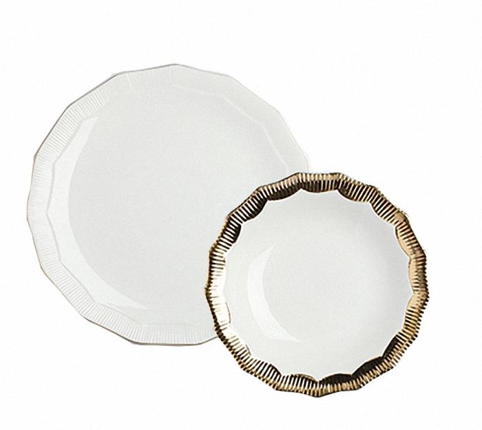 """Комплект тарелок """"Marine Hoss Gold"""""""