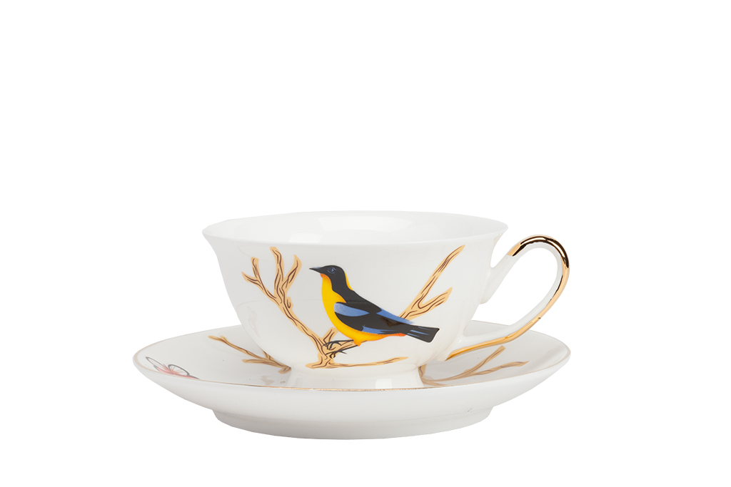 Чайная пара TimouseЧайные пары и чашки<br><br><br>Material: Фарфор<br>Height см: 5.5<br>Diameter см: 9