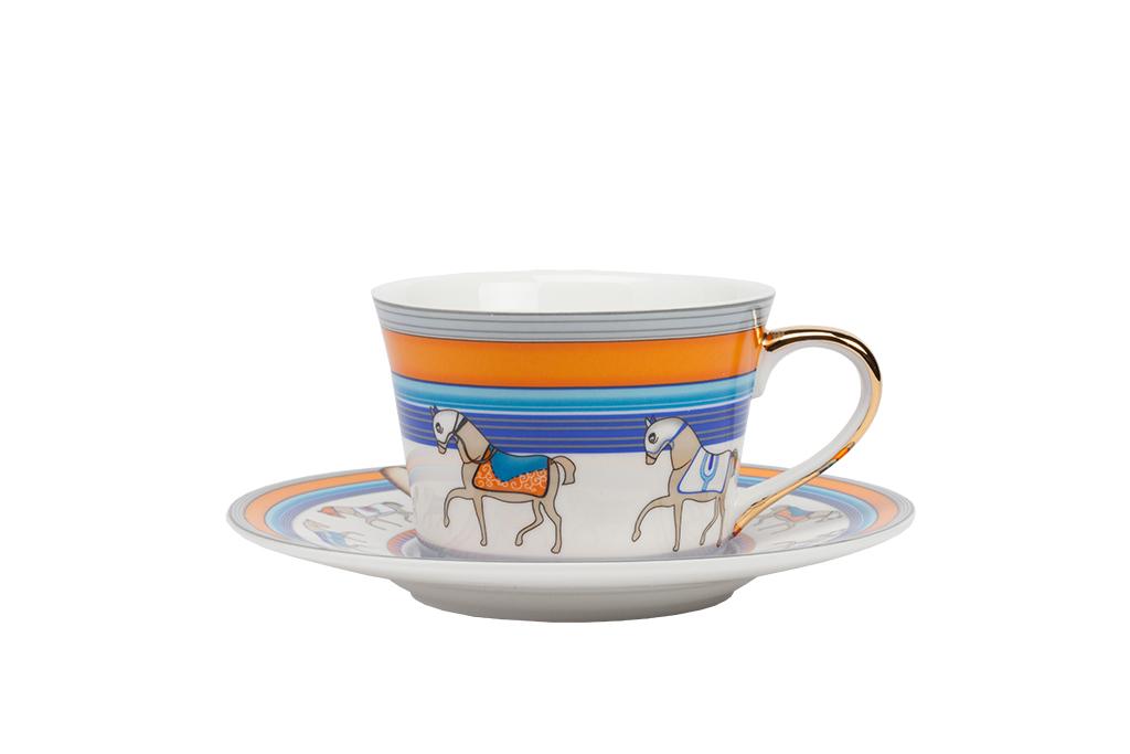 Чайная пара SaltosЧайные пары, чашки и кружки<br><br><br>Material: Фарфор<br>Height см: 6<br>Diameter см: 14