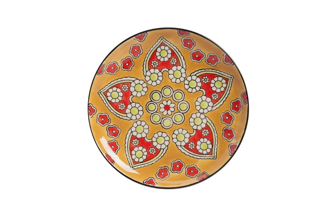 Мини-блюдо, раскрашенное вручную NoltyДекоративные блюда<br><br><br>Material: Керамика<br>Глубина см: 1