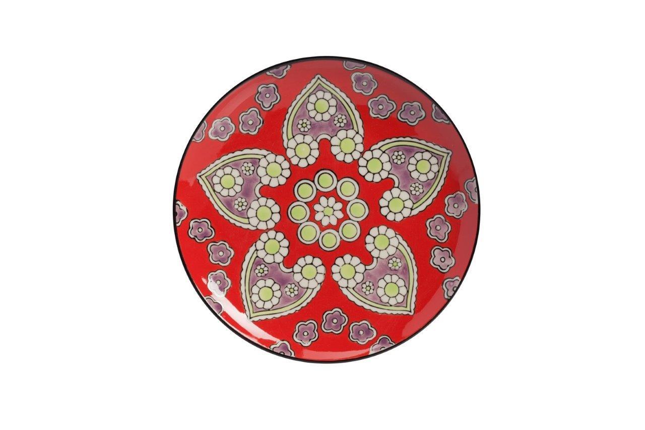 Мини-блюдо LeoneДекоративные блюда<br>Раскрашено вручную.<br><br>Material: Керамика<br>Depth см: 1<br>Diameter см: 20