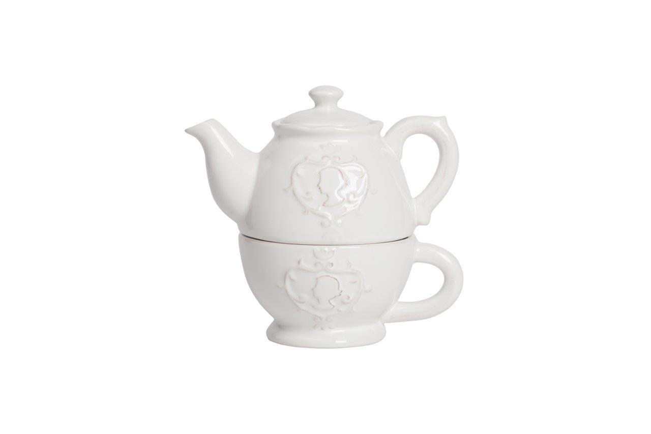 Чайный набор LadyЧайные пары, чашки и кружки<br><br><br>Material: Керамика<br>Width см: 11.2<br>Depth см: 10.9<br>Height см: 17.3