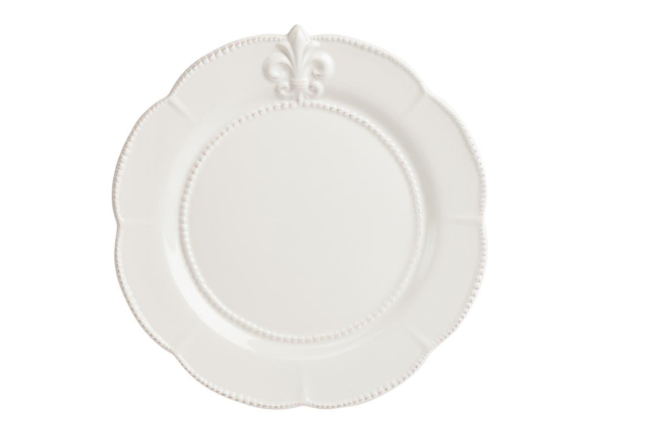Большая тарелка Tess CreamДекоративные тарелки<br><br><br>Material: Керамика<br>Depth см: 0.5<br>Height см: None<br>Diameter см: 30