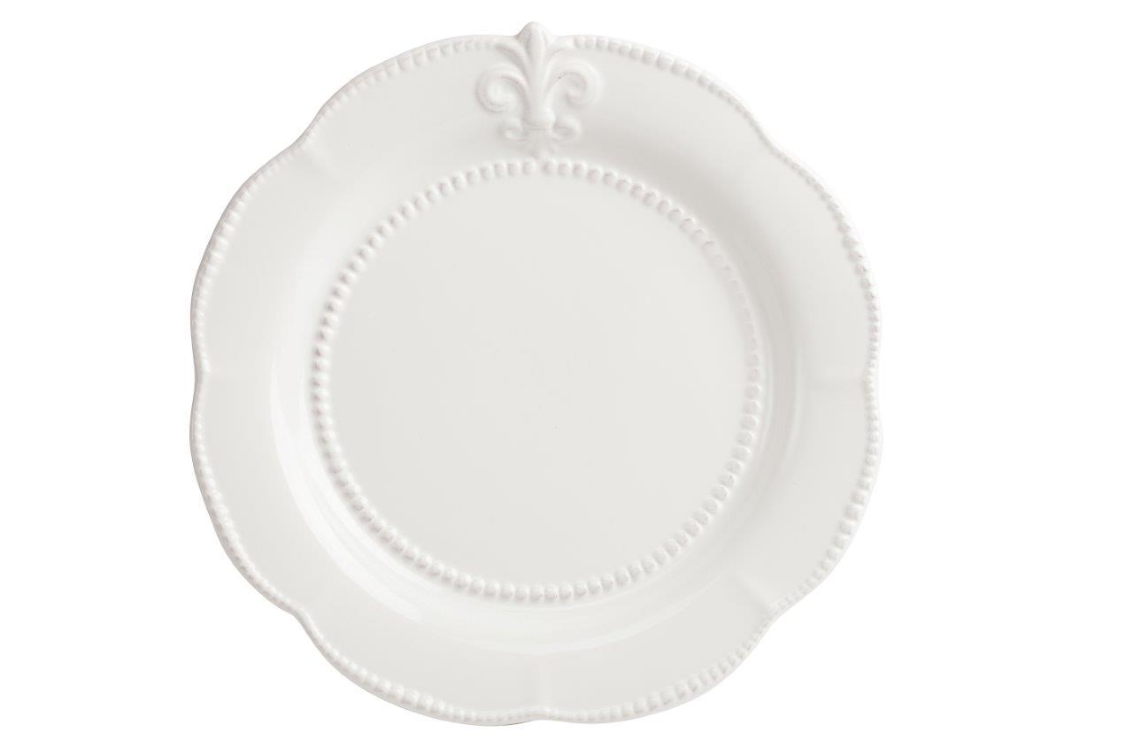 Блюдо Tess CreamДекоративные блюда<br><br><br>Material: Керамика<br>Depth см: 0.5<br>Diameter см: 34