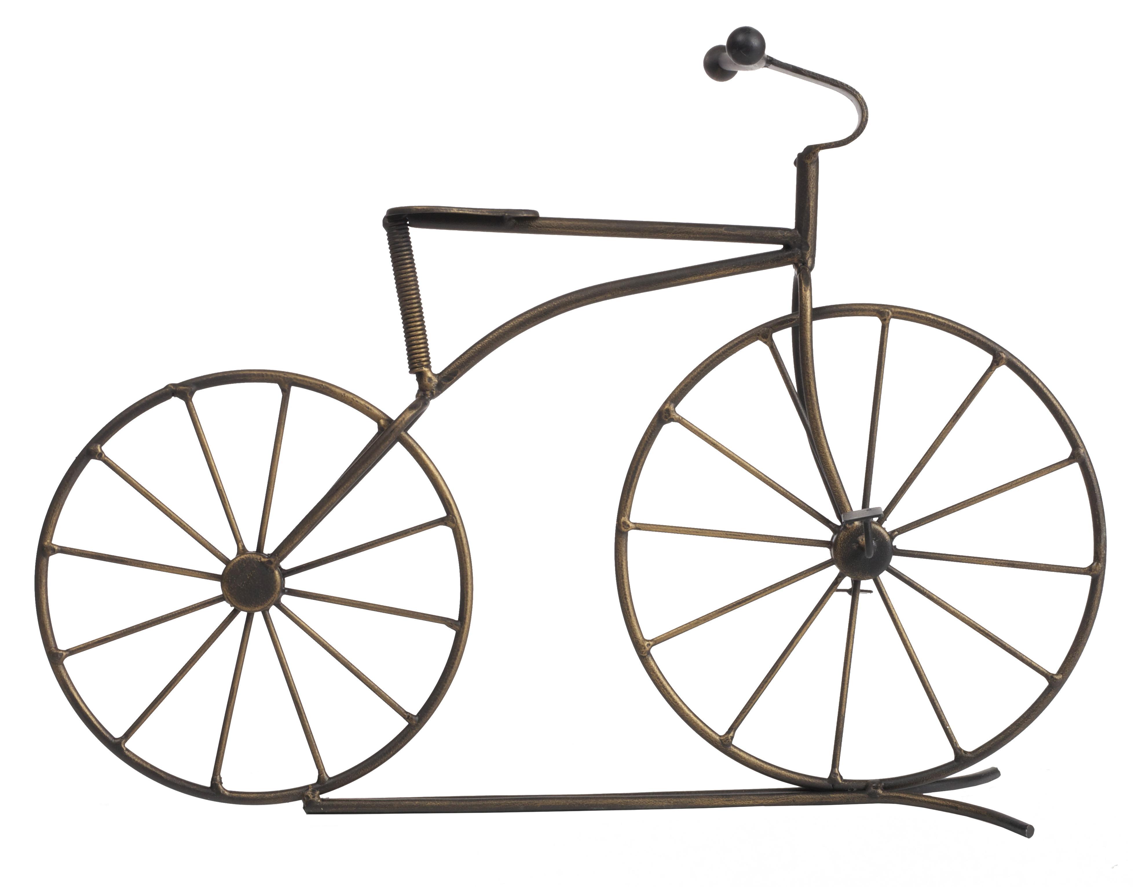 Предмет декора Garden BicycleДругое<br>Старинный велосипед, выполненный из металла, в качестве предмета декора заставит порадоваться любителей старинных вещей и вам захочется купить этот оригинальный предмет для себя, либо подарить близким людям.<br><br>Material: Металл<br>Width см: 39<br>Height см: 29