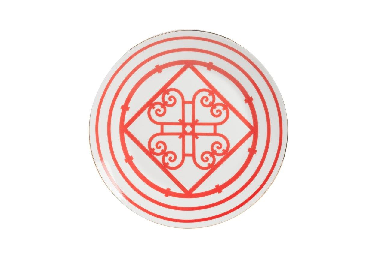 Большая тарелка SkarlettiДекоративные тарелки<br><br><br>Material: Фарфор<br>Depth см: 1<br>Diameter см: 24