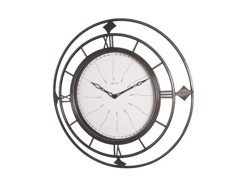 Настенные часы FENCEНастенные часы<br>Кварцевый механизм. На задней стороне - отверстие для крепежа на стену.<br><br>Material: Металл<br>Diameter см: 40