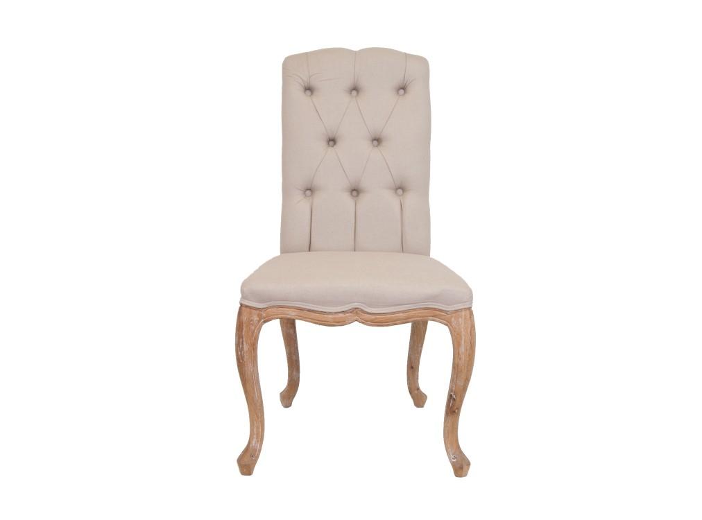 Стул MelisoОбеденные стулья<br>Стул с высокой, эффектно выгнутой спинкой, выполнен из массива дуба. Передние ножки декорированы резьбой ручной работы, подчеркивающей классический стиль стула.&amp;amp;nbsp;<br><br>Material: Дерево<br>Ширина см: 56<br>Высота см: 104<br>Глубина см: 56