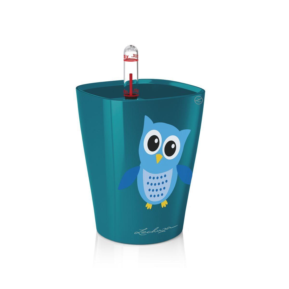 Кашпо с системой полива LECHUZAКашпо<br><br><br>Material: Пластик<br>Width см: 10<br>Depth см: 10<br>Height см: 13
