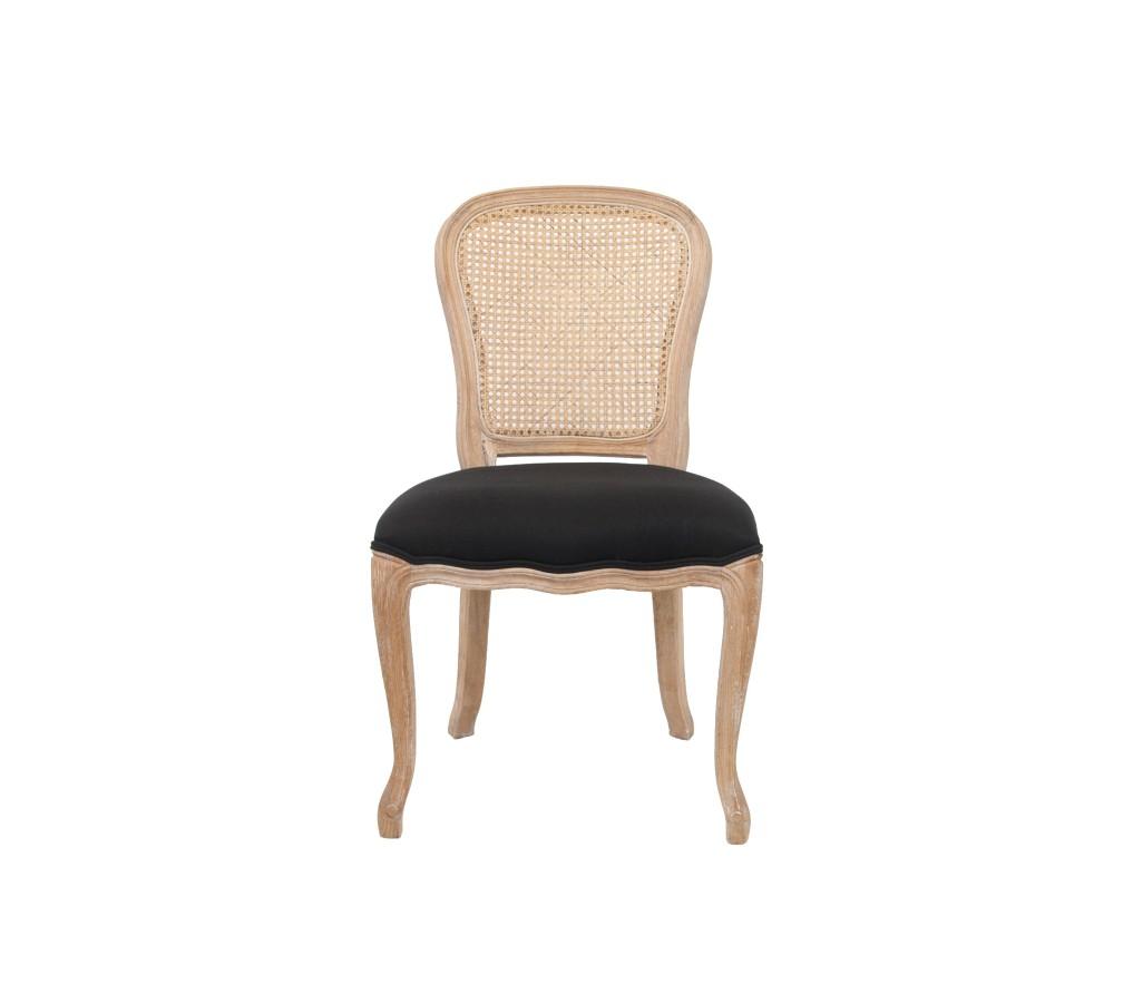 Стул DonsaОбеденные стулья<br>Изысканный стул Donsa выполнен в классическом французском стиле. Модель выполнена из ценной древесной породы – массива дуба. Эта модель стула станет роскошным дополнением к вашему столу.<br><br>Material: Дерево<br>Width см: 53<br>Depth см: 61<br>Height см: 95