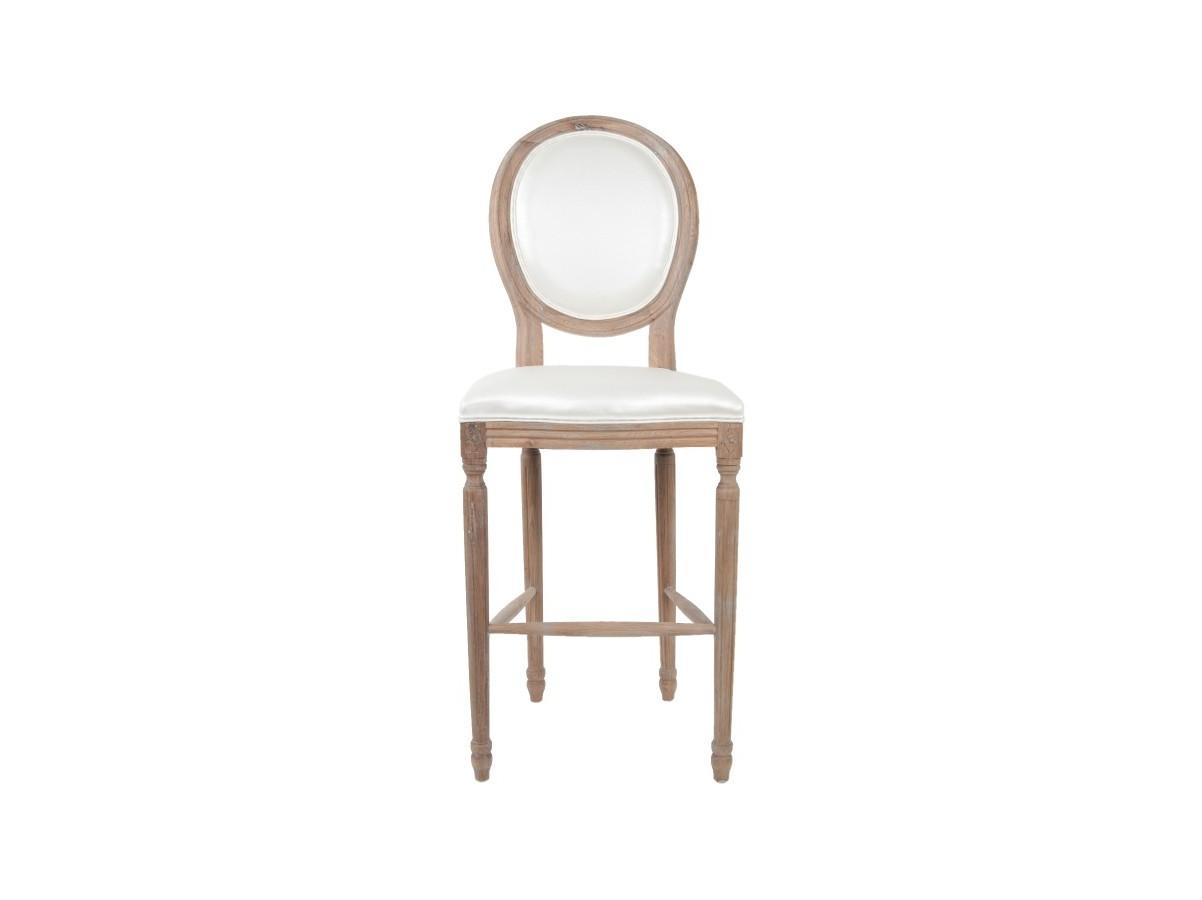 Барный стул FilonБарные стулья<br>Высокий барный стул Filon выполнен из экологически чистого массива древесины высокого качества. Обивка сидения и обтекаемой невысокой спинки - экокожа. Этот стильный стул украсит не только интерьер внутри дома, но и отлично подойдет для кафе, баров и ресторанов.&amp;amp;nbsp;<br><br>Material: Дуб<br>Width см: 50<br>Depth см: 58<br>Height см: 122