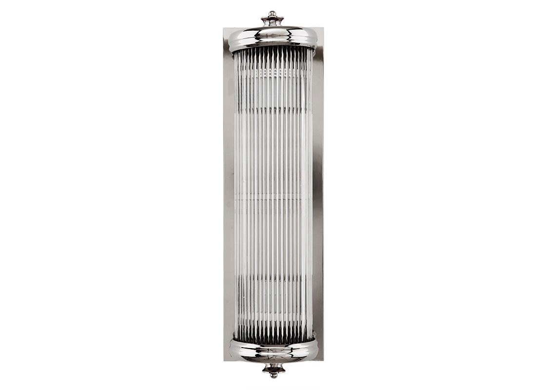 БраБра<br>&amp;lt;div&amp;gt;Бра Glorious с металлическим основанием никелевого цвета. Рифленый стеклянный плафон закрывает лампы.&amp;lt;/div&amp;gt;&amp;lt;div&amp;gt;Количество лампочек: 2&amp;lt;/div&amp;gt;&amp;lt;div&amp;gt;Мощность: 2 x 40 Вт&amp;lt;/div&amp;gt;&amp;lt;div&amp;gt;Тип лампы: Накаливания, E27&amp;lt;/div&amp;gt;<br><br>Material: Стекло<br>Width см: 13<br>Depth см: 11<br>Height см: 43