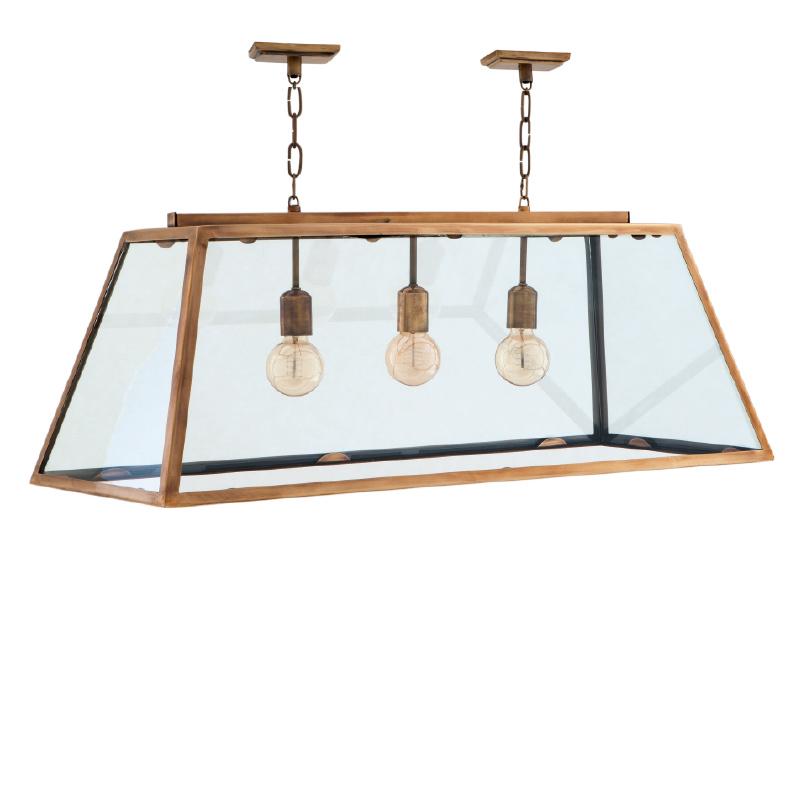 Подвесной светильникПодвесные светильники<br>&amp;lt;div&amp;gt;Lamp Harpers 3 Lights. Цвет металла - латунь.&amp;lt;/div&amp;gt;&amp;lt;div&amp;gt;Количество лампочек: 3&amp;lt;/div&amp;gt;&amp;lt;div&amp;gt;Мощность: 3 x 60 Вт&amp;lt;/div&amp;gt;&amp;lt;div&amp;gt;Тип лампы: Накаливания, E14&amp;lt;/div&amp;gt;<br><br>Material: Металл<br>Width см: 100<br>Depth см: 38<br>Height см: 36
