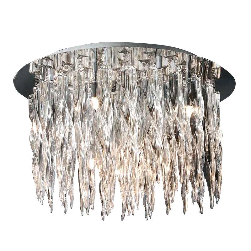 Потолочный светильникПотолочные светильники<br>&amp;lt;div&amp;gt;Потолочный светильник серии URANO выполнен в виде блестящей хромированной пластины, на которой размещены подвески из прозрачного высококачественного стекла.&amp;lt;/div&amp;gt;&amp;lt;div&amp;gt;Количество лампочек: 8&amp;lt;/div&amp;gt;&amp;lt;div&amp;gt;Мощность: 8 x 42 Вт&amp;lt;/div&amp;gt;&amp;lt;div&amp;gt;Тип лампы: Галогенная, G9&amp;lt;/div&amp;gt;&amp;lt;div&amp;gt;Цветовая температура: 2900 К&amp;lt;/div&amp;gt;&amp;lt;div&amp;gt;Вес: 10 кг&amp;lt;/div&amp;gt;&amp;lt;div&amp;gt;Световой поток: 450 лм&amp;lt;/div&amp;gt;<br><br>Material: Стекло<br>Height см: 30.5<br>Diameter см: 50