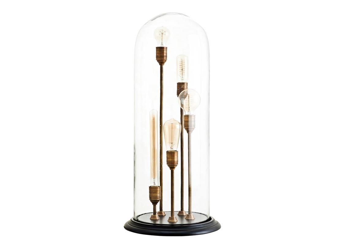 Настольная лампаДекоративные лампы<br>&amp;lt;div&amp;gt;Настольная лампа Table Lamp Opus с основанием черного цвета. 5 стоек-оснований разной высоты из металла, с латунной отделкой помещены в форму из прозрачного стекла.&amp;lt;/div&amp;gt;&amp;lt;div&amp;gt;&amp;lt;br&amp;gt;&amp;lt;/div&amp;gt;&amp;lt;div&amp;gt;Количество лампочек: 5&amp;lt;/div&amp;gt;&amp;lt;div&amp;gt;Мощность: 5 x 40 Вт&amp;lt;/div&amp;gt;&amp;lt;div&amp;gt;Тип лампы: Накаливания, E27&amp;lt;/div&amp;gt;<br><br>Material: Металл<br>Height см: 76<br>Diameter см: 34