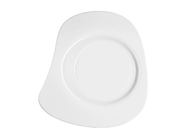 ТарелкаТарелки<br>Фарфоровая посуда бренда Chef&amp;amp;amp;Sommelier (Франция) - новинка от компании ARC Int. на российском рынке. Она предназначена для заведений высокой ценовой категории, ресторанов Fine Dining, отелей премиум - класса. Посуда изготавливается по уникальной технологии из фарфора Maxima. Это запатентованный материал, отличающийся повышенной механической прочностью. имеющий нежный молочный оттенок. В концепцию дизайна заложена мировая тенденция на смешение стилей, форм и материалов.<br><br>Material: Фарфор<br>Length см: 31<br>Width см: 29<br>Depth см: None<br>Height см: 12<br>Diameter см: None