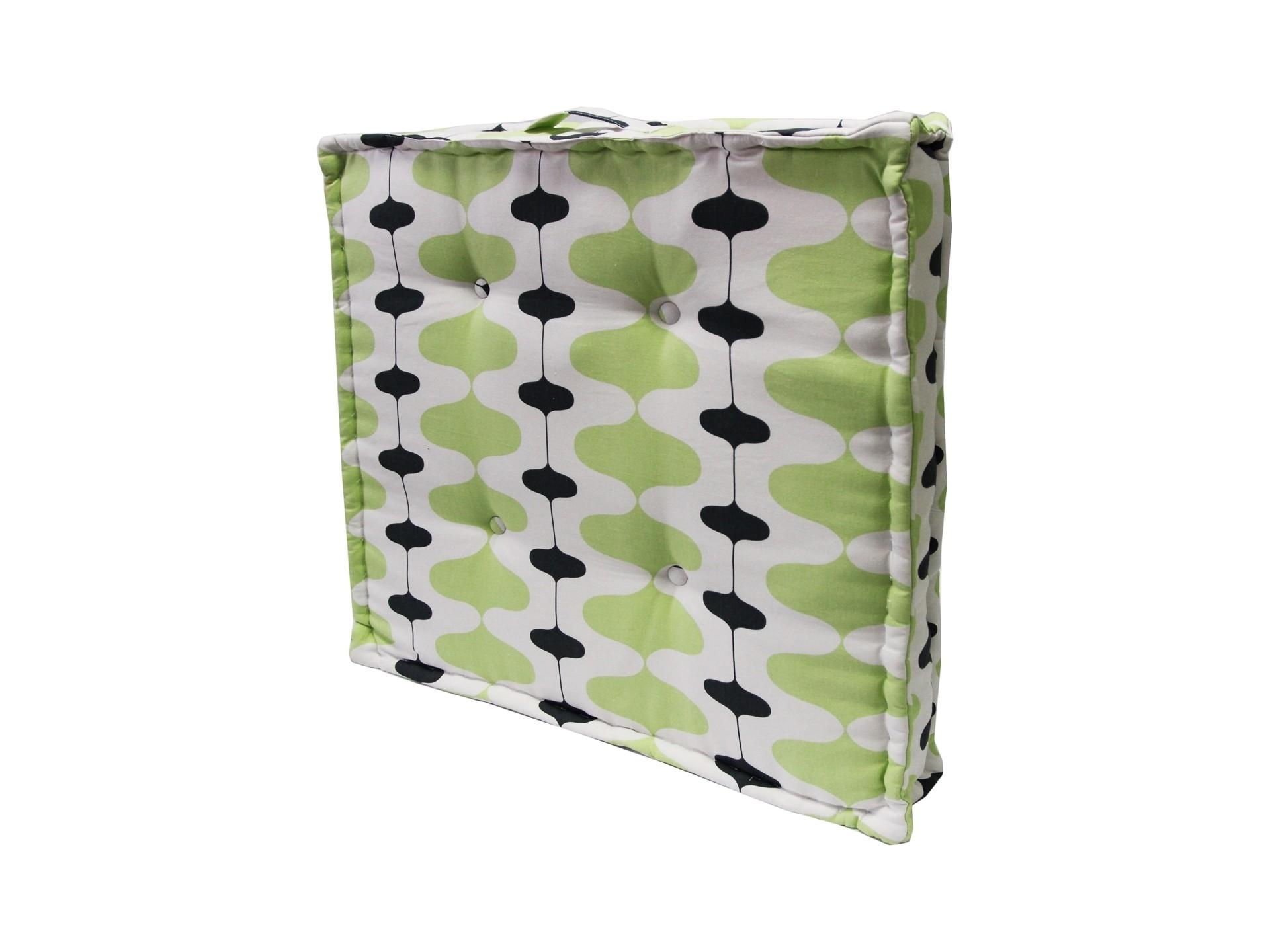 Подушка на пол Ivon KiwiКвадратные подушки<br>Подушка на пол  станет ярким акцентом в вашем интерьере. Высококачественный материал приятен и безопасен даже для самой чувствительной кожи.  Оригинальная подушка сделает пространство стильным и уютным.<br><br>Material: Хлопок<br>Width см: 70<br>Depth см: 70<br>Height см: 10