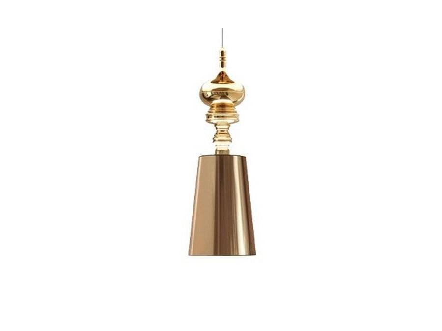 Подвесной светильник Metalarte Josephine T OneПодвесные светильники<br>Один плафон PVC, металлическое основание. &amp;amp;nbsp;Диаметр плафона 18 см, высота плафона 25 см. Длина подвеса 0.5 м, высота основания 15 см. Патрон E27, мощность max 1 х 60W. Возможно использование светодиодной лампы. Вес 2.8 кг<br><br>Material: Пластик<br>Height см: 90<br>Diameter см: 18