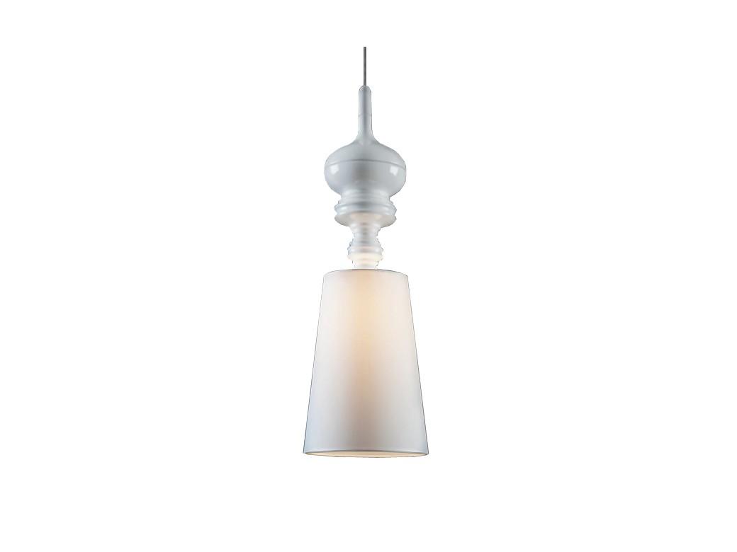 Подвесной светильник Metalarte Josephine T OneПодвесные светильники<br>Плафон PVC, металлическое основание. Диаметр 26 см, высота плафона 76,5 см. Длина подвеса 2 м, высота основания 15 см. Патрон E27, мощность max 1 х 60W. Возможно использование светодиодной лампы. Вес 2.8 кг<br><br>Material: Пластик<br>Height см: 215<br>Diameter см: 26
