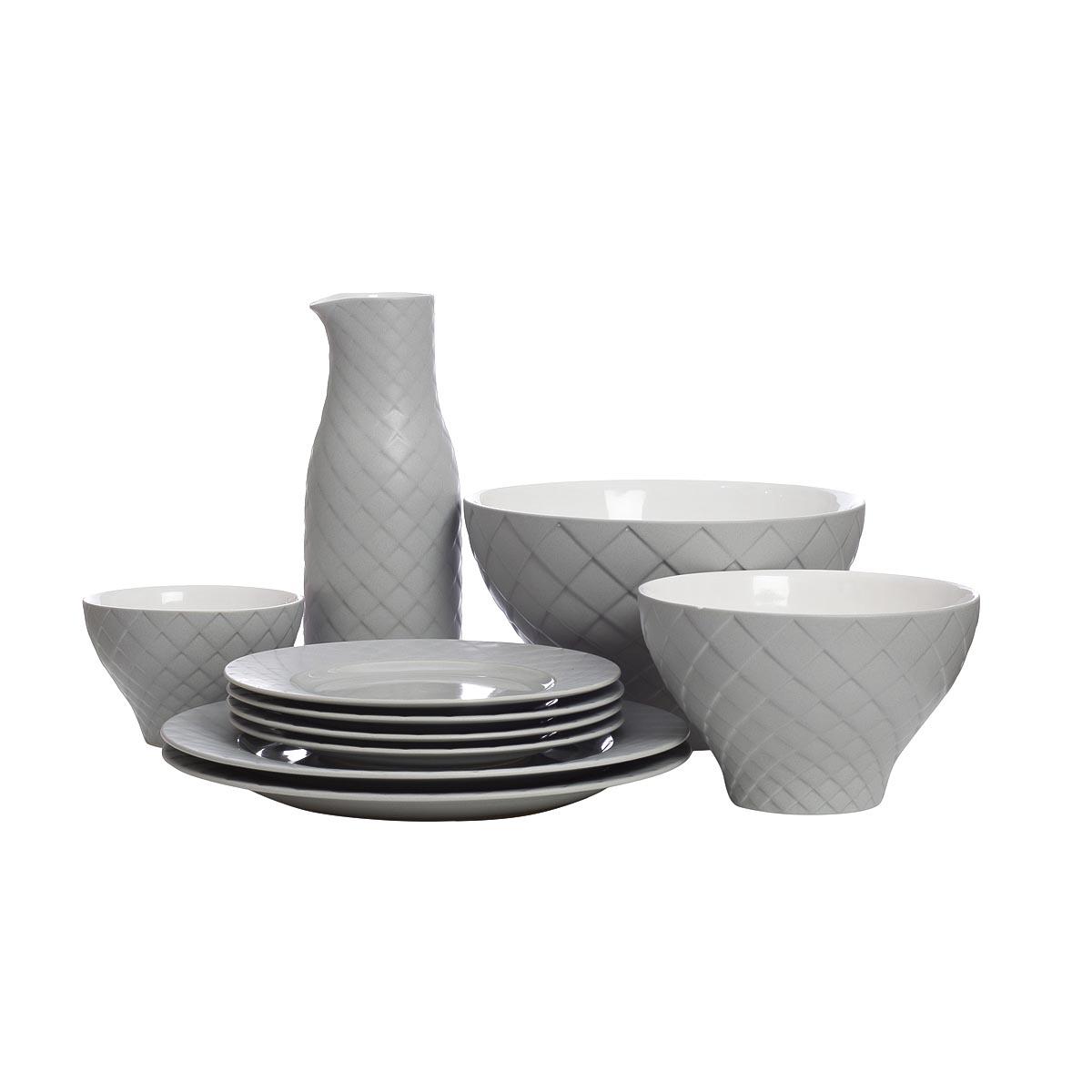 Комплект посуды 10 предметов