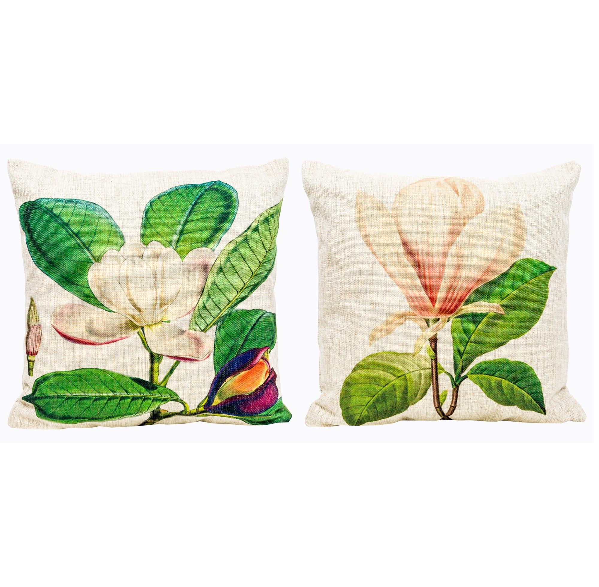 Набор из двух декоративных подушек Цветочный перфомансКвадратные подушки и наволочки<br>Подушки, украшенные веселыми разноцветными бабочками, весьма желанны в детской комнате. Отметьте при этом их рациональный размер.<br>Окружите же себя позитивными вещицами, одухотворенными заботой, уютом и в прямом смысле теплом.<br>Подушки  уникальны: рисунок выпущен лимитированным тиражом.<br>При выборе декоративного чехла для подушечки обратите внимание на высокую плотность ткани. Она обеспечит Вам не только дополнительную мягкость, но и максимальную долговечность любимого аксессуара.<br><br>Material: Текстиль<br>Width см: 45<br>Height см: 45