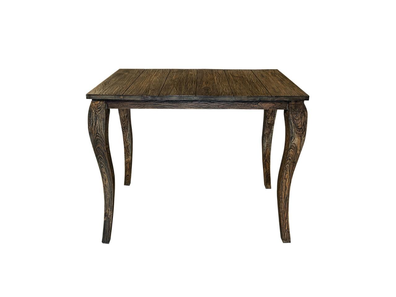 Стол барный AvignonБарные столы<br>Несмотря на некую брутальность и, казалось бы, простую отделку, этот стол смотрится очень стильно и аккуратно. Он изготовлен исключительно из натурального дерева. Этот стол отлично справится со своей функцией, а благодаря высокому качеству, прослужит долгую и хорошую службу.<br><br>Material: Дерево<br>Width см: 130<br>Depth см: 71<br>Height см: 107