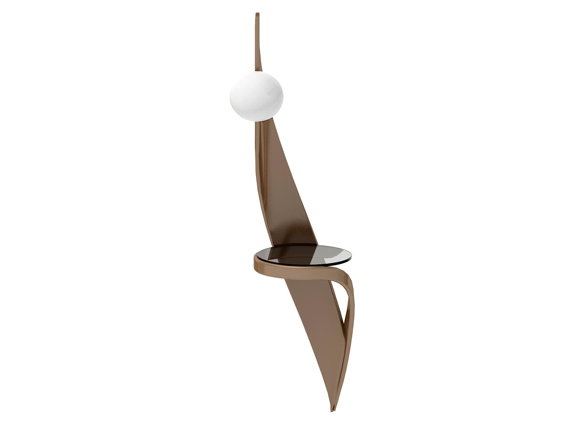 Бра virtuos (actualdesign) коричневый 24.0x24.0x24.0 см.