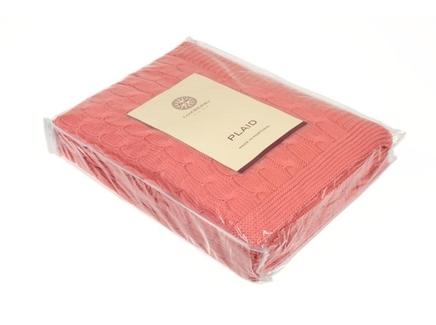 Плед imperio 22 (luxberry) розовый 170x130 см.
