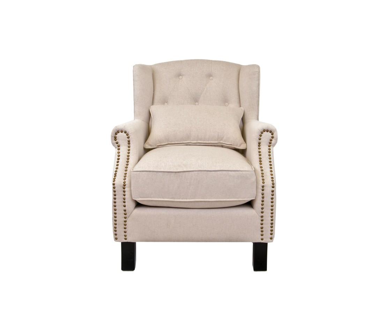 Кресло ScottИнтерьерные кресла<br>Кресло Scott — элегантная классическая модель, которая потрясает своей красотой и удобством. Аристократичные линии этого кресла радуют глаз, а мягкие подушки окутывают заботой.&amp;amp;nbsp;<br><br>Material: Текстиль<br>Width см: 76<br>Depth см: 81<br>Height см: 95