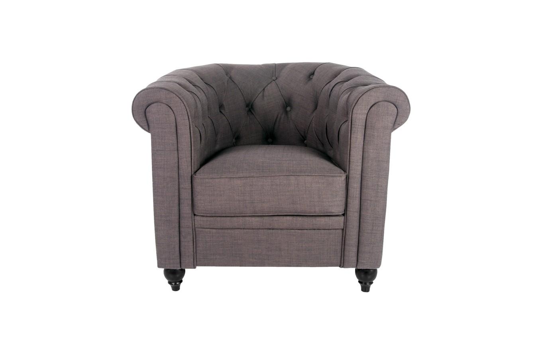 Кресло nala (mak-interior) коричневый 82x71x76 см. фото