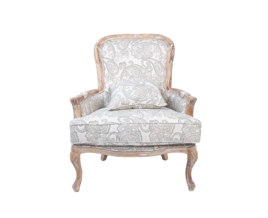 Кресло SheaИнтерьерные кресла<br>Сдержанные формы кресла Shea только лишь подчеркивают комфорт, который обеспечивают объемное, мягкое сидение и дополнительная подушка в комплекте. Подлокотники оформлены мягкими накладками. Вам будет очень удобно в нем!&amp;amp;nbsp;<br><br>Material: Лен<br>Width см: 80<br>Depth см: 75<br>Height см: 95