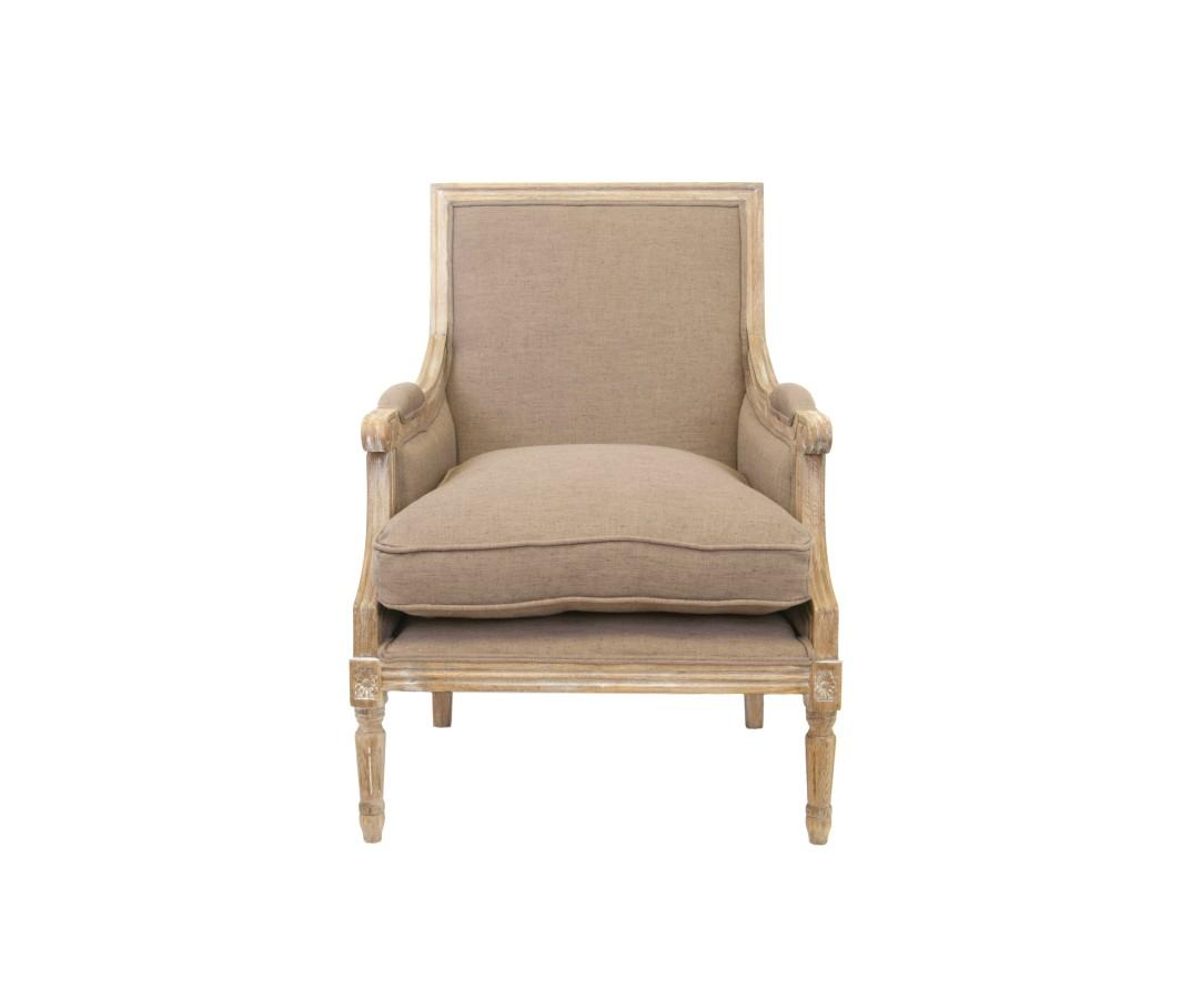 Кресло CoolmanИнтерьерные кресла<br>Сдержанное и элегантное кресло Coolman — удобная стильная модель на прочном каркасе из массива дерева. Оно станет удачным дополнением гостиной, столовой или спальни, оформленной в классическом стиле.<br><br>Material: Лен<br>Width см: 68<br>Depth см: 67<br>Height см: 95