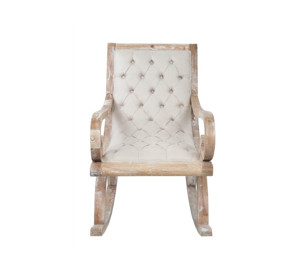 Кресло-качалка VelindaКресла-качалки<br>Стильное кресло-качалка Velinda полностью выполнено вручную из массива дуба. Уютное кресло создаст непринужденную атмосферу отдыха как в квартире, так и в доме. <br>Глубина 100 <br>Высота 92 <br>Ширина 60 <br>Диаметр - <br>Материал Лен <br>Цвет Бежевый<br><br>Material: Лен<br>Width см: 60<br>Depth см: 100<br>Height см: 92