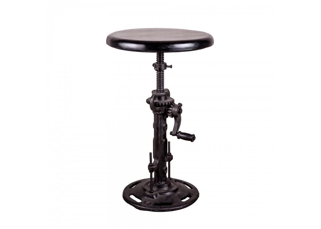 Стул БлэкБарные стулья<br>Размеры стула по высоте минимальные - 45 см., максимальные - 68 см.<br><br>Material: Металл<br>Height см: 45<br>Diameter см: 38